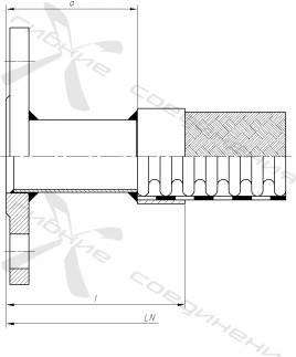 ФА. Фланцевое соединение по ГОСТ 12820-80