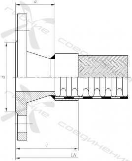 ФД. Фланцевое соединение по ГОСТ 12821-80