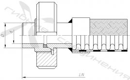МД. Муфта соединительная («молочная») по стандарту DIN 11851