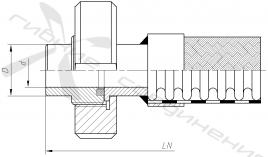 МС. Муфта соединительная («молочная») по стандарту SMS 1145