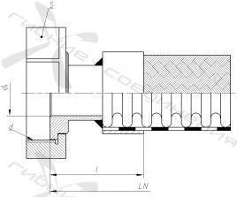 СУГ45-2. Присоединительная арматура для слива-налива СУГ, тип 2