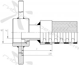 СУГ45-3. Присоединительная арматура для слива-налива СУГ, тип 3