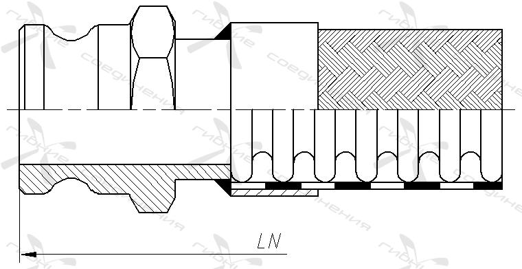 КА, ГКА. Быстроразъёмное соединение типа Camlock, адаптер&width=268