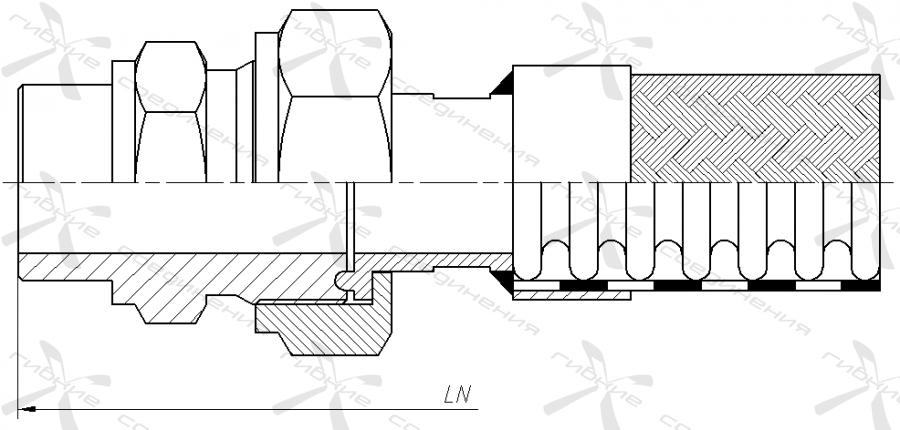 ИП. Муфта соединительная высокого давления под приварку.&width=268