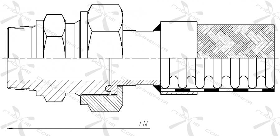 ИР. Муфта соединительная высокого давления с трубной конической резьбой&width=268