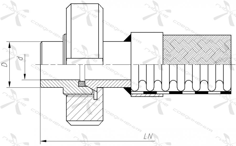 МД. Муфта соединительная («молочная») по стандарту DIN 11851&width=268