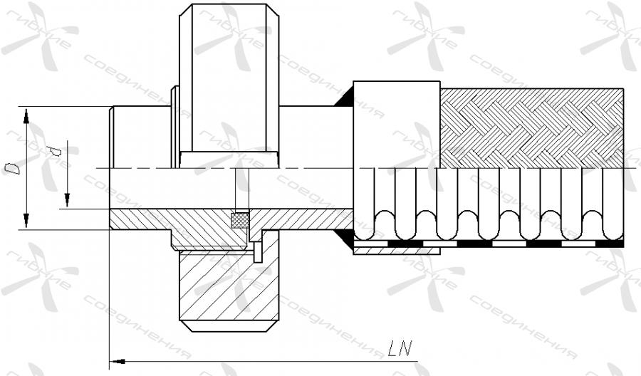 МС. Муфта соединительная («молочная») по стандарту SMS 1145&width=268