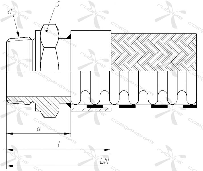 ГР. Ниппель приварной с наружной трубной конической резьбой&width=268